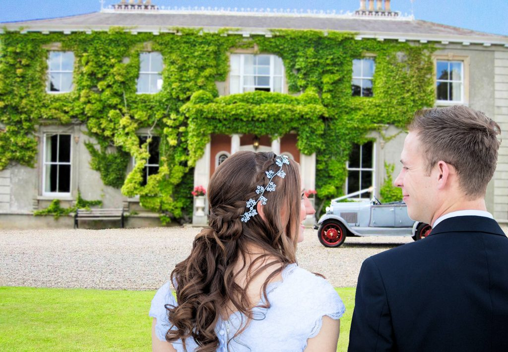 tyrrelstown house wedding venue dublin couple